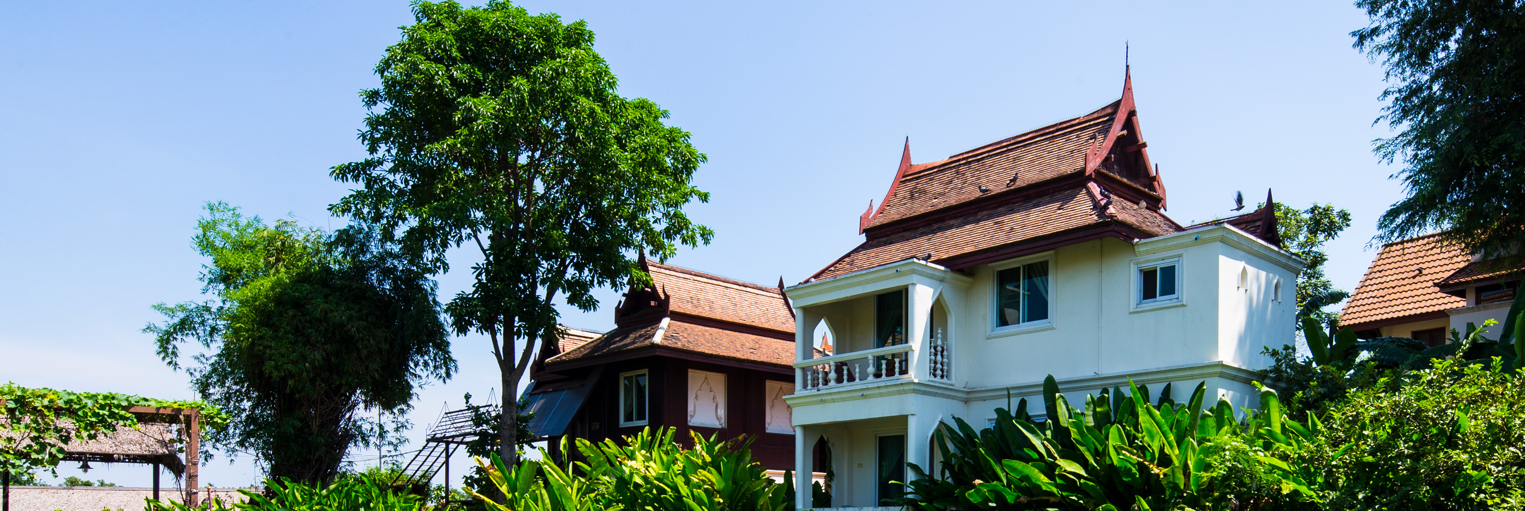 Room for booking, Ayutthaya Garden River Home River Resort Thailand